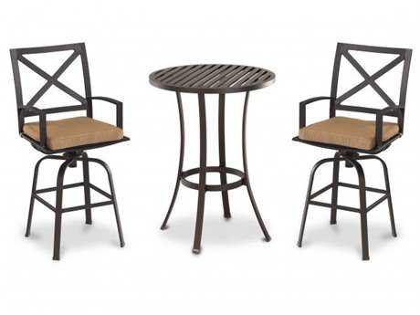 Sunset West Quick Ship La Jolla Aluminum Dining Set
