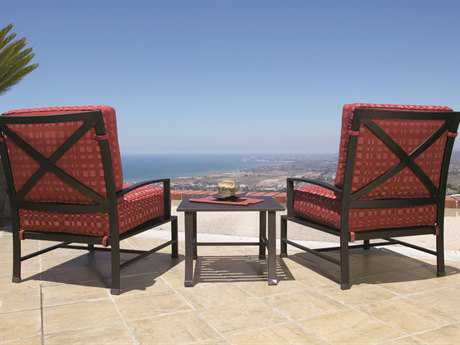 Sunset West La Jolla Aluminum Lounge Set