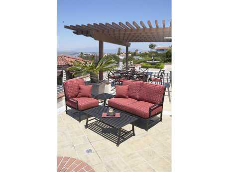 Sunset West La Jolla Aluminum Lounge Set