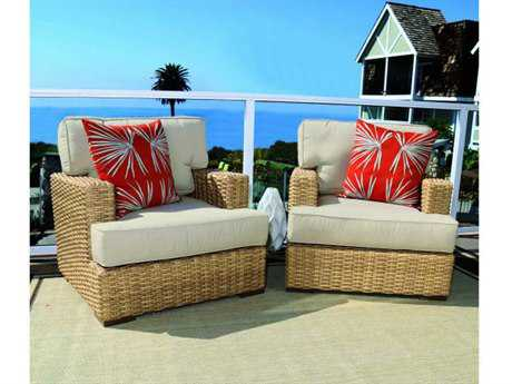 Sunset West Leucadia Wicker Lounge Set
