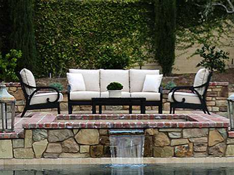Sunset West Monterey Aluminum Lounge Set