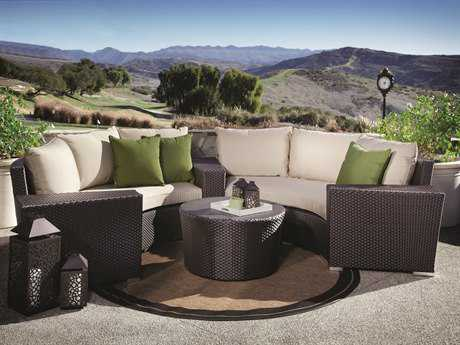 Sunset West Solana Wicker Lounge Set