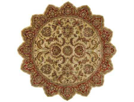 Surya Ancient Treasures 8' Star Beige Area Rug