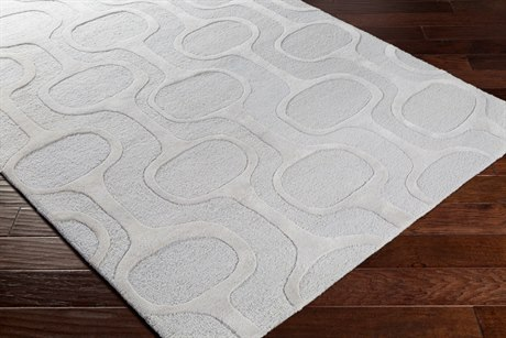Surya Amarion Rectangular Gray Area Rug