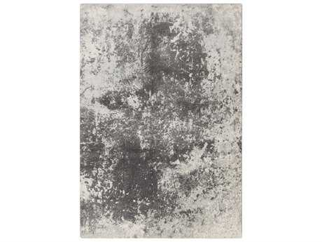 Surya Aberdine Rectangular Light Gray Area Rug