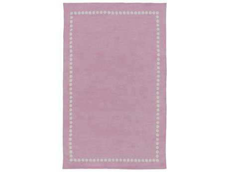 Surya Abigail Rectangular Pastel Pink Area Rug