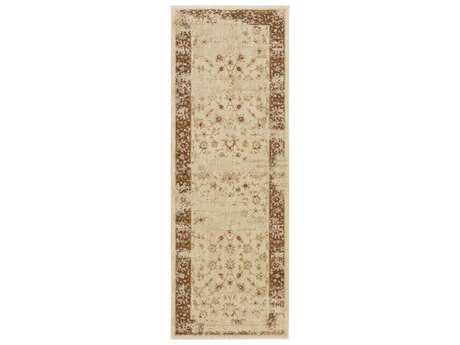 Surya Arabesque 2'7'' x 7'3'' Rectangular Beige Runner Rug