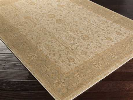 Surya Arabesque Rectangular Beige Area Rug