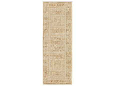 Surya Arabesque 2'7'' x 7'3'' Rectangular Gold Runner Rug