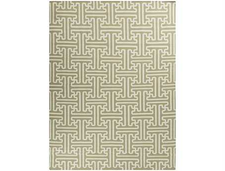 Surya Archive Rectangular Green Area Rug