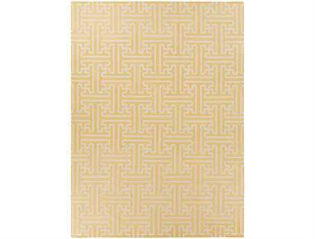Surya Archive Rectangular Yellow Area Rug