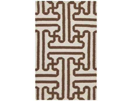 Surya Archive Rectangular Cream Area Rug