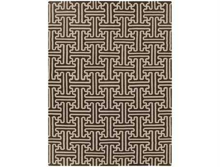 Surya Archive Rectangular Brown Area Rug