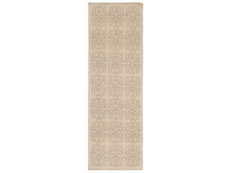 Surya Adeline 2'6'' x 8' Rectangular Ivory & Taupe Runner Rug
