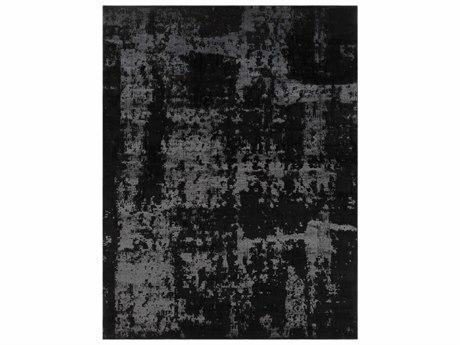 Surya Amadeo Rectangular Black & Khaki Area Rug