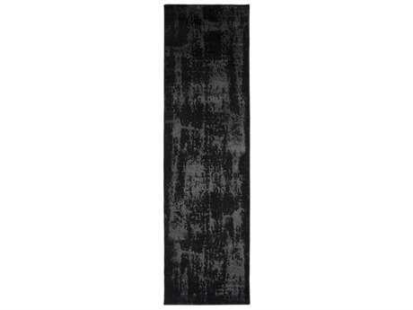 Surya Amadeo 2'3'' x 7'10'' Rectangular Black & Khaki Runner Rug