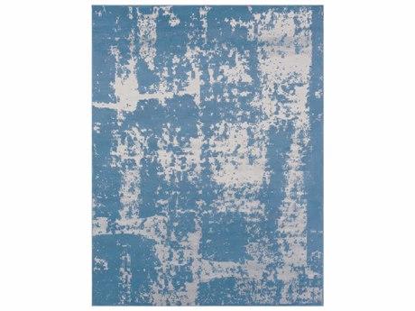 Surya Amadeo Rectangular Denim & Medium Gray Area Rug