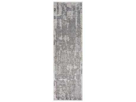 Surya Amadeo 2'3'' x 7'10'' Rectangular Taupe & Charcoal Runner Rug