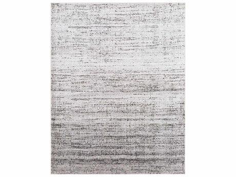 Surya Amadeo Rectangular Light Gray, Charcoal & Black Area Rug