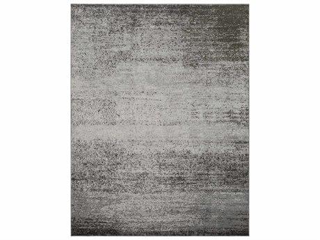 Surya Amadeo Rectangular Light Gray, Medium Gray & Dark Brown Area Rug