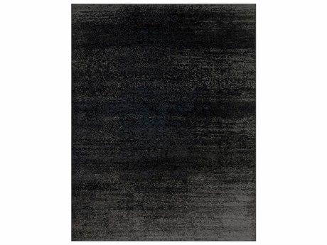 Surya Amadeo Rectangular Light Gray, Medium Gray & Black Area Rug