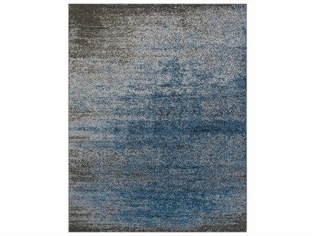 Surya Amadeo Rectangular Denim, Light Gray & Medium Gray Area Rug