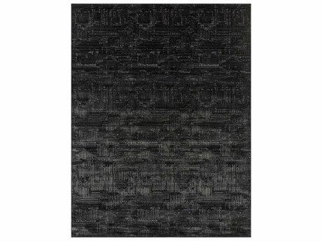 Surya Amadeo Rectangular Black, Light Gray & White Area Rug