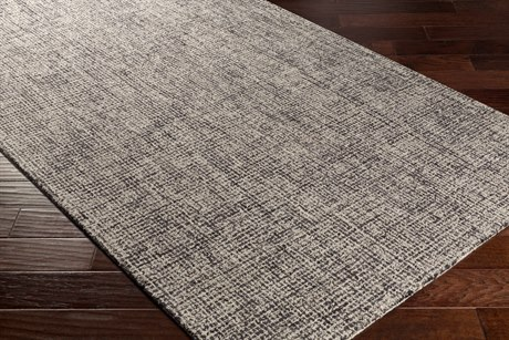 Surya Aiden Rectangular Navy & Charcoal Area Rug