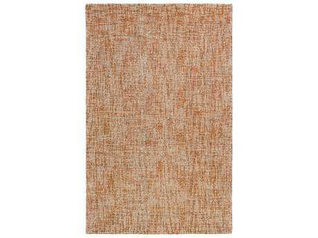 Surya Aiden Rectangular Burnt Orange & Khaki Area Rug