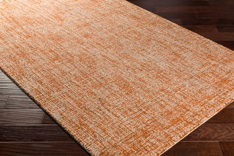 Surya Aiden Rectangular Burnt Orange & Khaki Area Rug