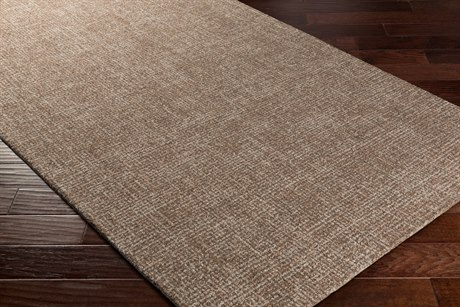 Surya Aiden Rectangular Dark Brown & Light Gray Area Rug