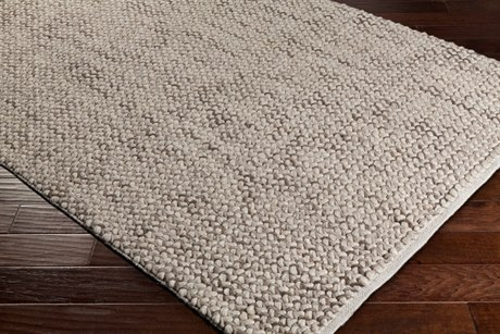 Surya Avera Rectangular Taupe & Cream Area Rug