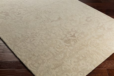 Surya Ashville Rectangular Cream & Tan Area Rug