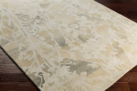 Surya Ashville Rectangular Cream, Butter & Taupe Area Rug