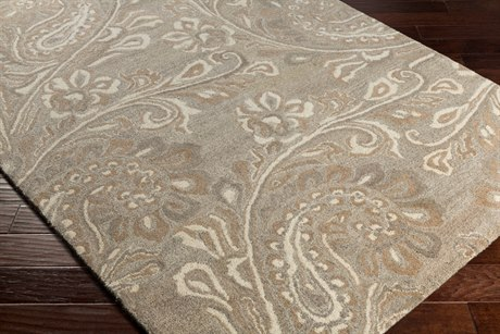 Surya Ashville Rectangular Cream, Taupe & Tan Area Rug