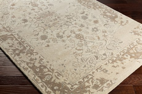 Surya Ashville Rectangular Cream, Tan & Taupe Area Rug