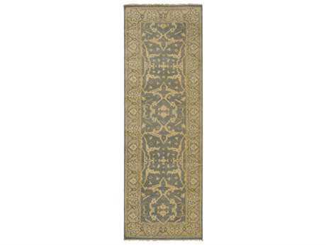 Surya Ainsley 2'6'' x 8' Rectangular Medium Gray, Tan & Khaki Runner Rug