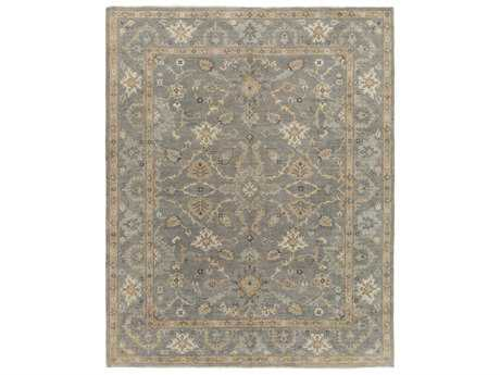 Surya Alanya Rectangular Medium Gray, Cream & Taupe Area Rug