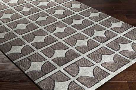 Surya Alexandra Rectangular Light Gray, Sage & Taupe Area Rug