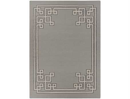 Surya Alameda Rectangular Gray Area Rug