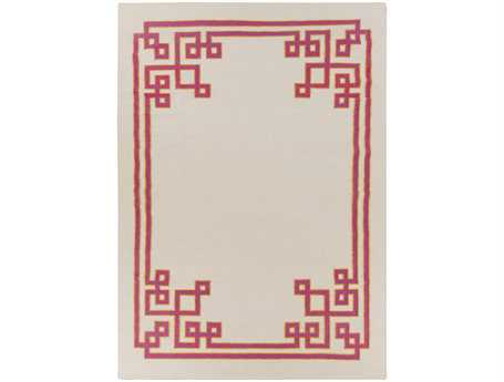Surya Alameda Rectangular White Area Rug