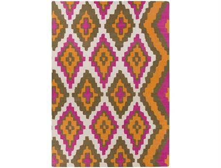 Surya Alameda Rectangular Brown Area Rug