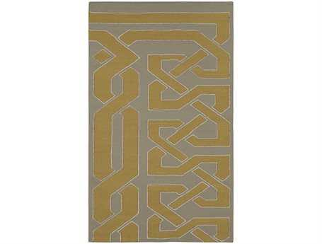 Surya Alameda Rectangular Yellow Area Rug