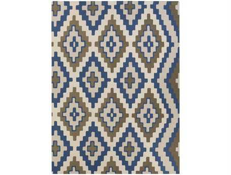 Surya Alameda Rectangular Blue Area Rug