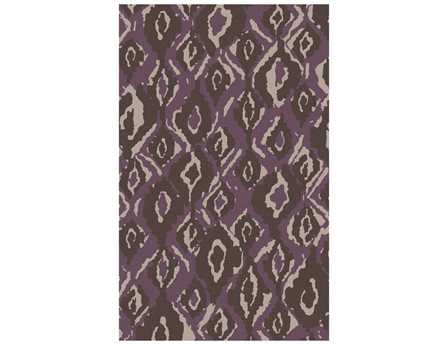 Surya Alameda Rectangular Purple Area Rug