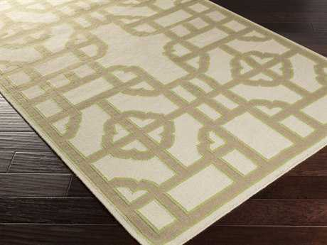 Surya Alameda Rectangular Lime Area Rug