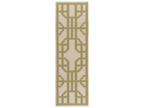 Surya Alameda 2'6'' x 8' Rectangular Lime Runner Rug