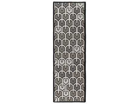 Surya Alameda 2'6'' x 8' Rectangular Light Gray Runner Rug