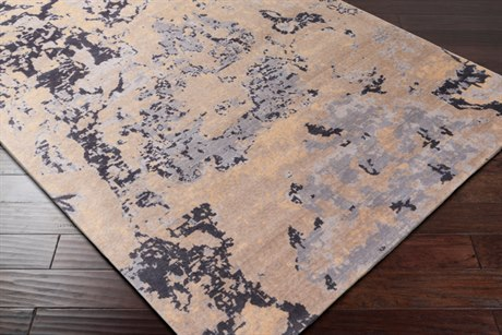 Surya Andromeda Rectangular Taupe, Camel & Light Gray Area Rug