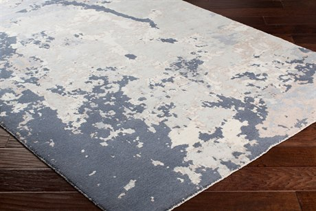 Surya Andromeda Rectangular Khaki, Pale Blue & Light Gray Area Rug
